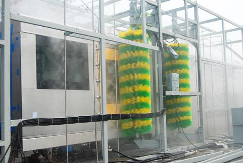 Tunnel Car Wash Equipment With Germany Brush Without Hurt Car Paint