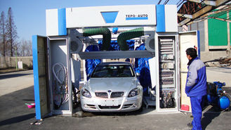 Çin Tunnel Car Wash Equipment With Germany Brush Without Hurt Car Paint Tedarikçi