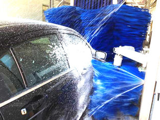 Çin Low Noise Durable Car Wash Tunnel Systems Keep Washing Process Stability Tedarikçi