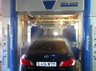 Çin Professional Convenient Car Wash Machine With Washing 60 - 80 Cars Per Hour Tedarikçi