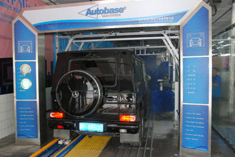 Çin Professional Car Wash System , Autobase Tunnel Car Wash Machine Tedarikçi