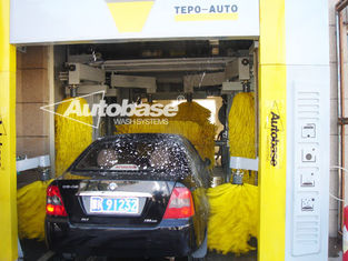 Çin TEPO-AUTO TUNNEL CAR WASH with high speed washing 60-80 cars per hour Tedarikçi
