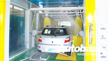 Çin Automatic Tunnel  Car Wash Machine & security & comfort Tedarikçi