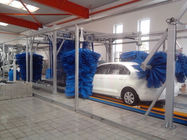 Çin Tunnel Car Wash Systems With Three Color Wax Spraying , Innovation Mode Fabrika