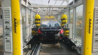 Çin CE / ISO9001 Express Car Wash Tunnel With Tepo Auto Upgrade Technology Fabrika