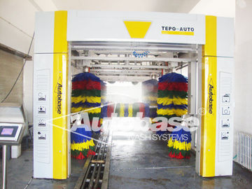 Tunnel car wash machine