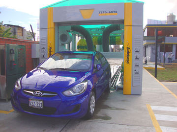 Electric Reliable Car Washing Machine , High Speed Tunnel Car Washer